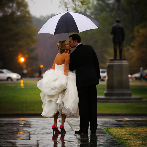 Tips For Rainy Day Weddings