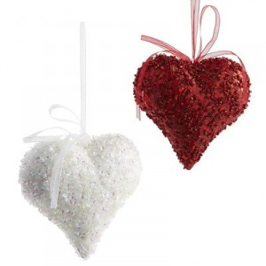 heart themed decorations