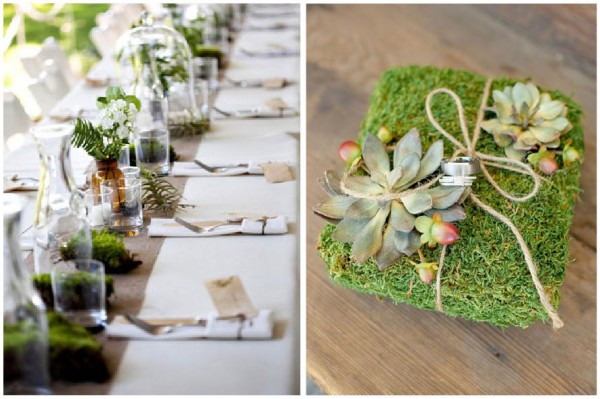 A Green Affair Decorating With Moss Peony Events Delectable Decorating With Moss Balls