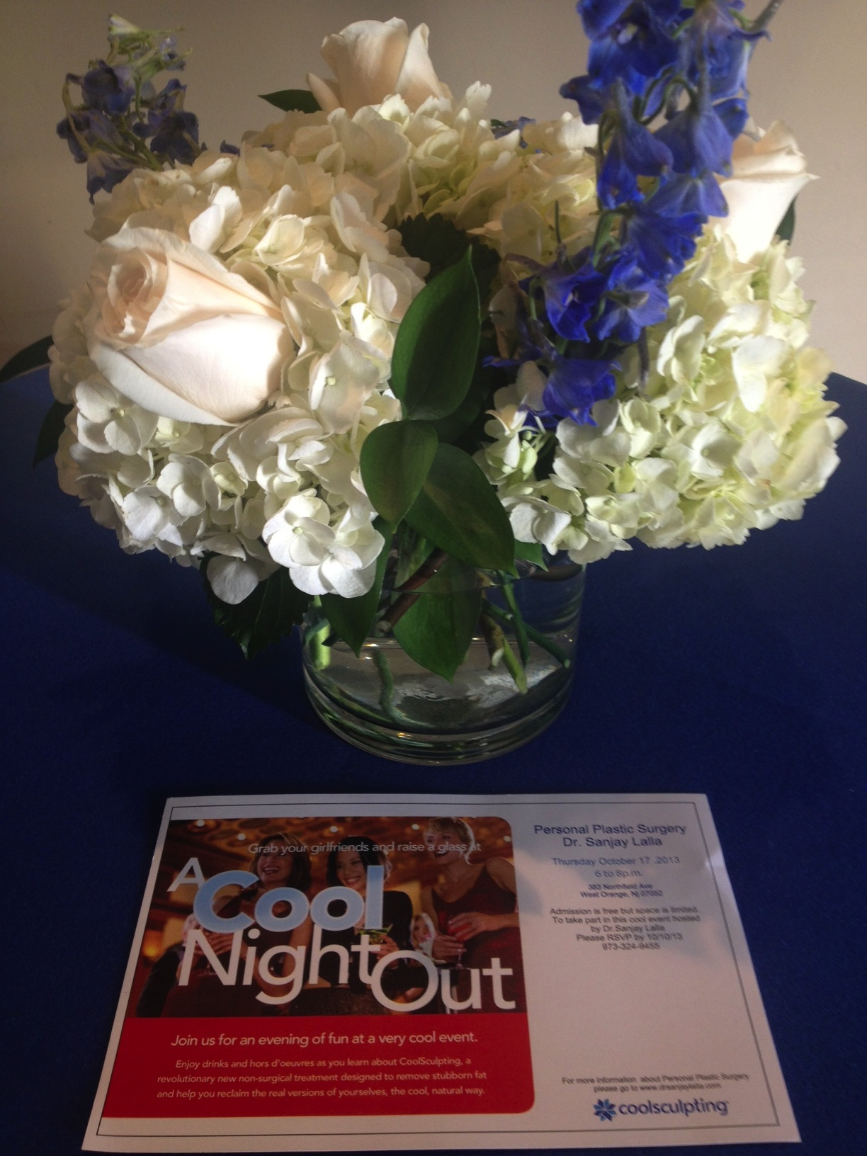 """NJ Board Certified Plastic Surgeon Dr Sanjay Lalla's """"Cool Night Out """""""
