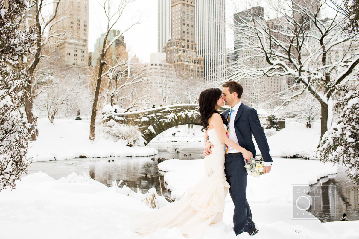 Personally we think more people should have winter weddings they