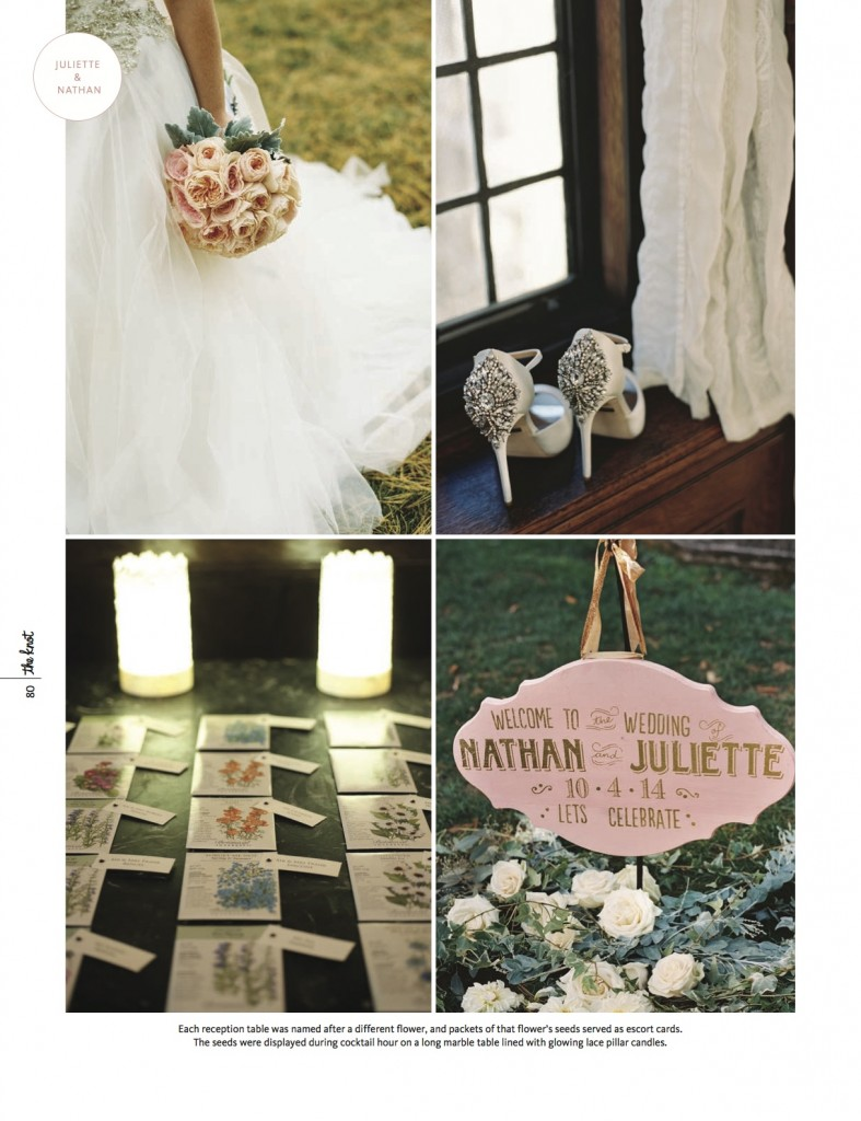 Peony Events Featured on The Knot